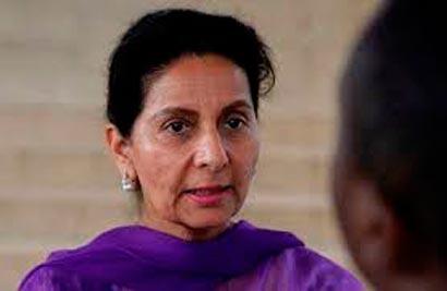 Congress-leader-Preneet-Kau